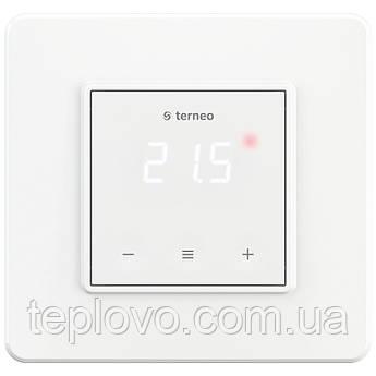 Терморегулятор цифровий terneo s (білий) з сенсорними кнопками для теплої підлоги