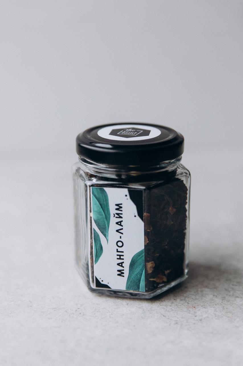 Чай черный Манго Лайм, 50 г / стекло