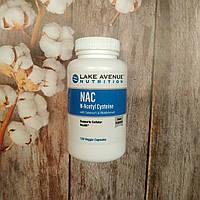 Lake Avenue NAC 120 veg caps 600 mg with Selenium, ацетил цистеин, фото 1