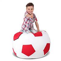 Кресло-мяч Белый с красным