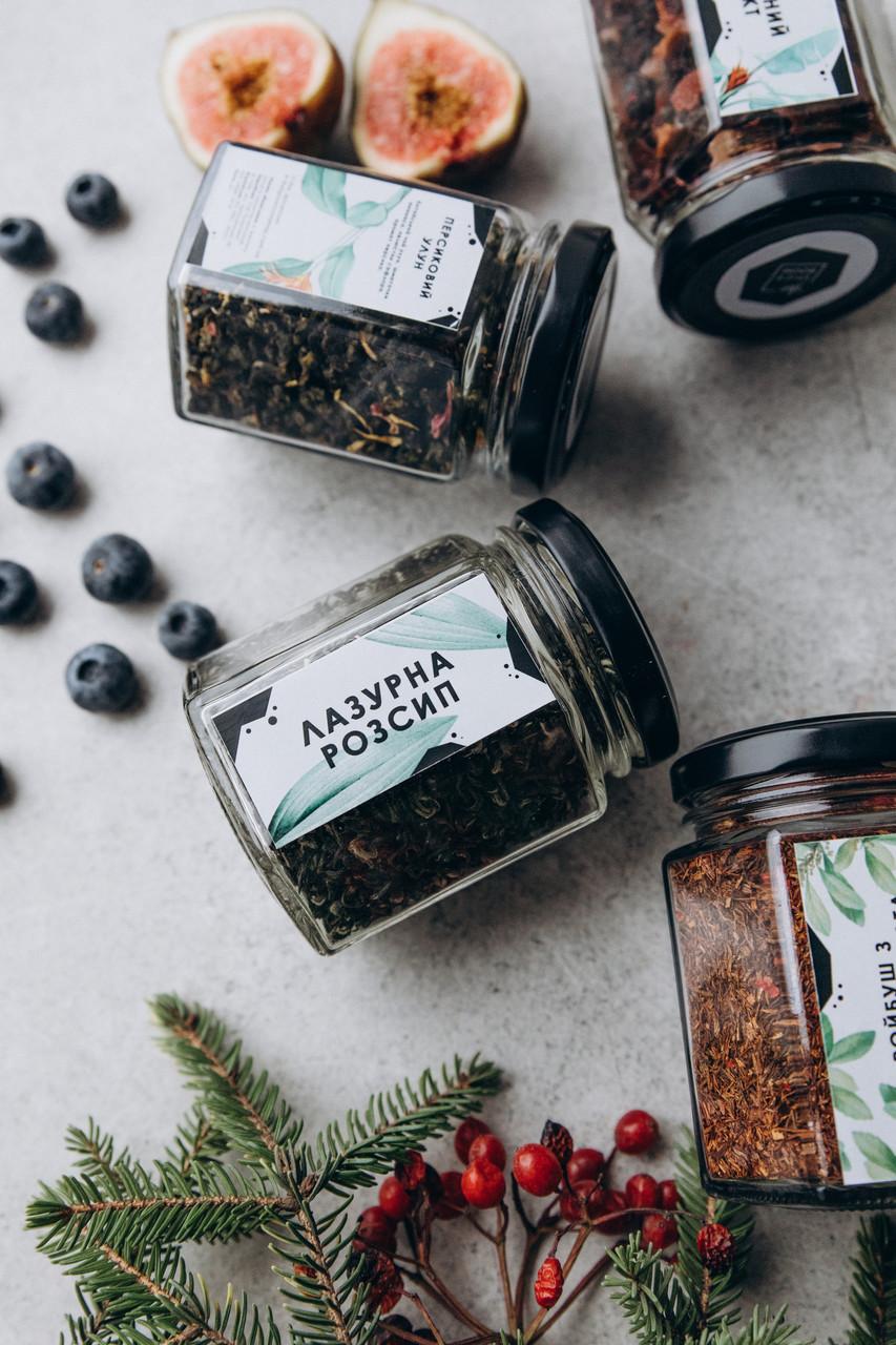 Чай зеленый Лазурная россыпь, 45 г / стекло