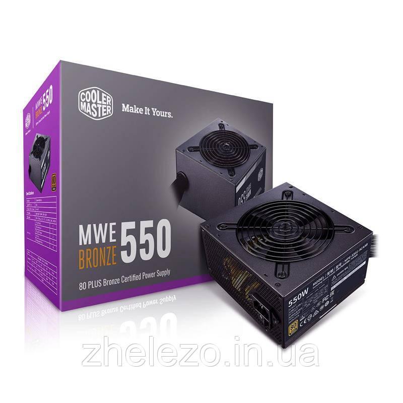 Блок питания CoolerMaster MWE 550 Bronze V2 550W (MPE-5501-ACAAB-EU)