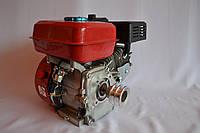 Двигатель бензиновый DDE 170FB 7.5 л.с вал 20 мм под шпонку + 2-х ручейковый шкив.