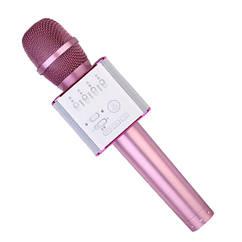 Мікрофон для караоке Q9(Pink) (Рожевий)