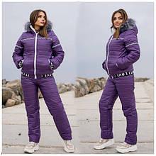 Жіночі зимові лижні костюми батал 48+