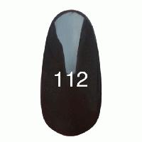 Гель- лак  KODI №112 темно-коричневый 8мл.