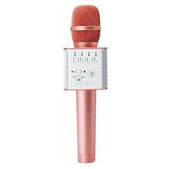 Мікрофон для караоке Q9(Rose Gold) (Рожеве золото)