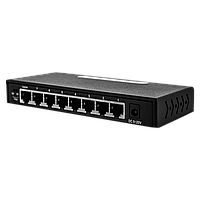 Коммутатор сетевой 8 портов 1 GB Green Vision GV-011-D-8PG Без POE