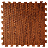 Модульне підлогове покриття Дерево Яблуня 600*600*10 мм м'яка підлога пазл ЕВА панелі-пазли