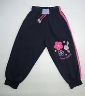 Красивые трикотажные штаны на девочку 1-4 года