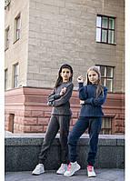 Теплый вязаный костюм для девочек  КАРОЛИНА 122-152 рост