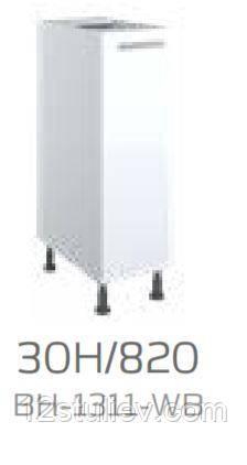 Кухонна секція Б ' янка нижня 30Н 820мм (30Н/820)