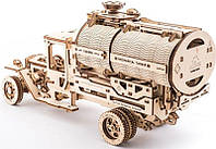 3D пазл механический Ugears Грузовик Автоцистерна (70021)