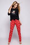 Женская пижама с оленем Schianto, фото 2