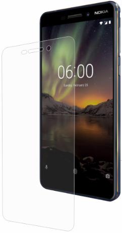 Гидрогелевая защитная пленка на Nokia 6.1 на весь экран прозрачная