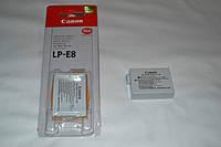 Аккумулятор (АКБ батарея) Сanon LP-E8 для EOS 550D 600D 650D 700D X4 X5 X6i X7i T2 T2i T3i T4i T5 T5i (аналог)