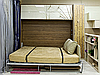 Шкаф-кровать-трансформер с фотопечатью