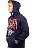 Спортивная худи Ultra Game NBA Men's Pullover Fleece Hoodie Sweatshirt - Black  (XXL), фото 3
