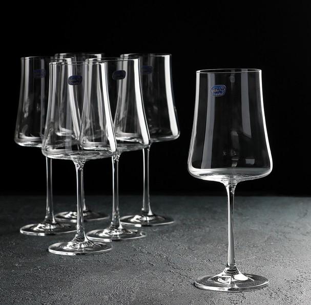 Набор бокалов для красного вина Bohemia Extra 460 мл