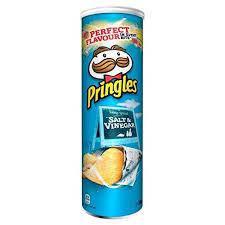 Pringles Salt And Vinegar 200G, фото 2
