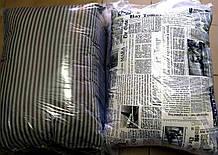 Подушка шерстяная с холлофайбером