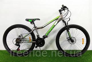 Гірський Велосипед Azimut Forest 26 D (13) сіро-салатовий