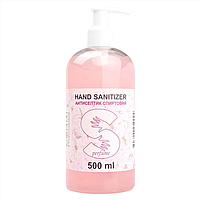 Антибактериальное средство для рук антисептик гелевый 70% спирта Canni hand Sanitizer 500 мл (AIR000074)