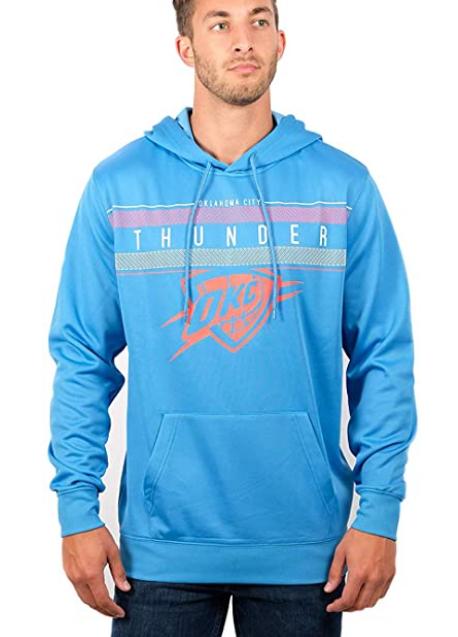 Спортивная худи Ultra Game Men's NBA Fleece Pullover  - Blue (XXL)