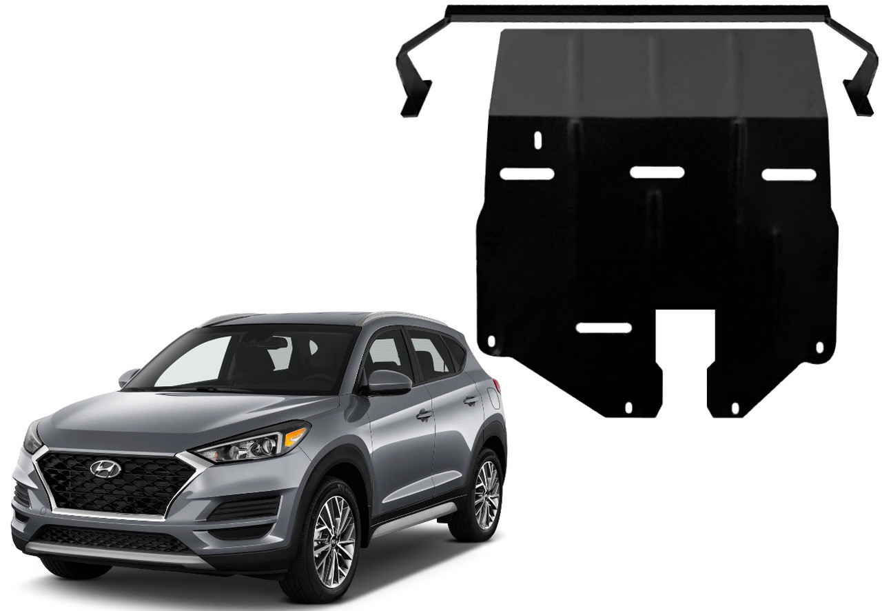 Защита двигателя Hyundai Tucson III TL 2015-2020
