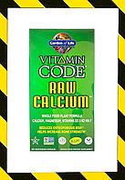 Garden of Life, Vitamin Code, RAW Calcium, 120 Vegetarian Capsules, фото 1