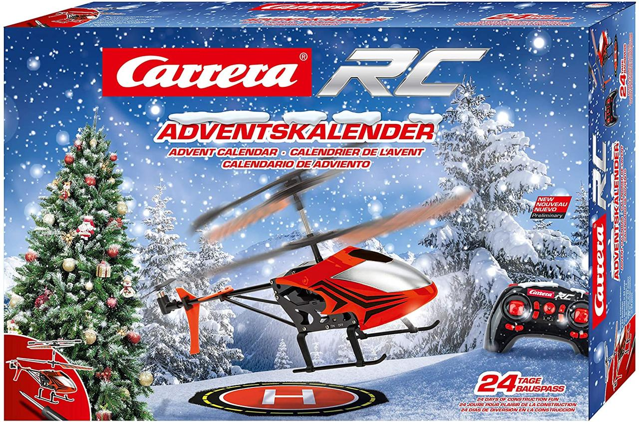 Адвент календарь Carrera RC helicopter with Advent calendar Вертолет на р / у Рождественский  календарь