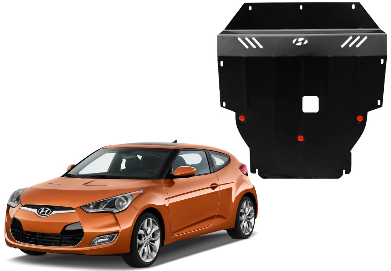 Защита двигателя Hyundai Veloster I 2011-2017