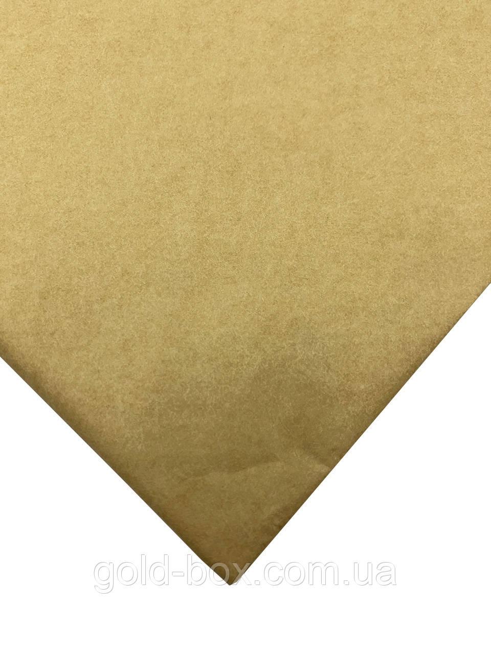 Упаковочная бумага тишью 10 листов крафтовая