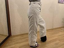 Сноуборд белые штаны горнолыжные тёплые штаны Thinsulate, фото 3