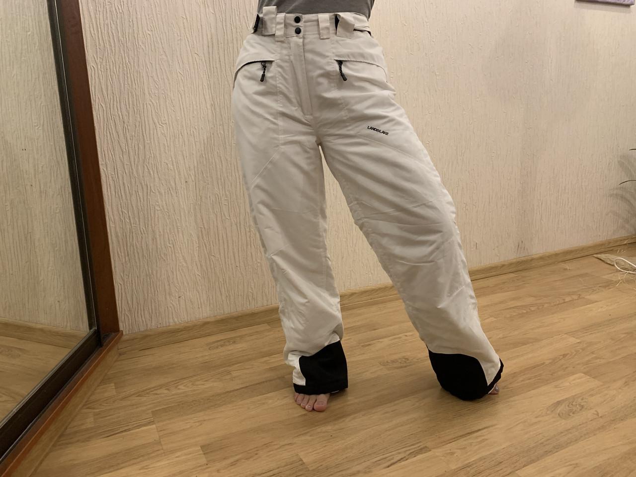 Сноуборд белые штаны горнолыжные тёплые штаны Thinsulate