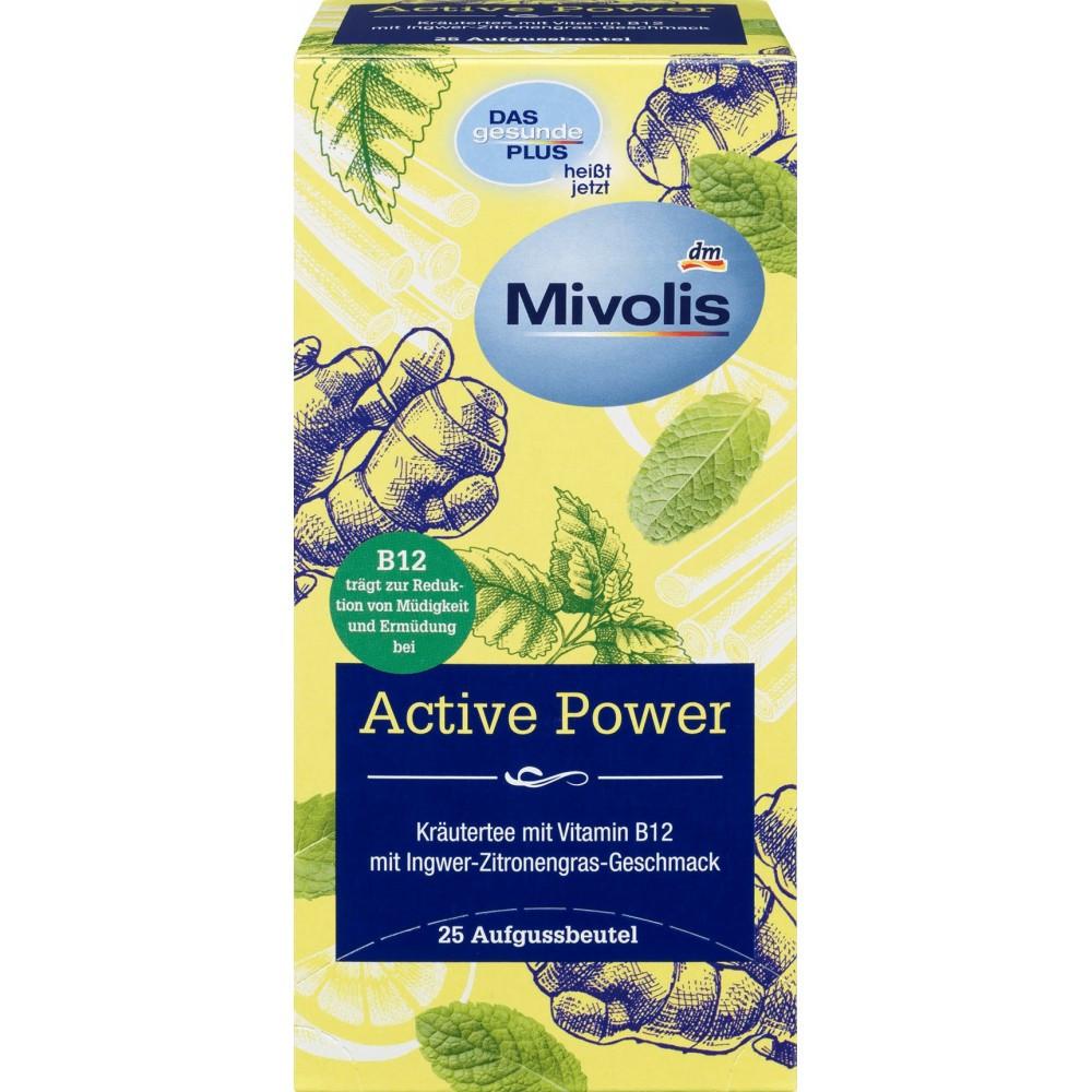 Травяной чай с активной силой MIVOLIS, 45г