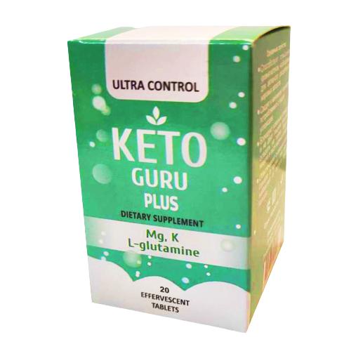 Таблетки для похудения Keto Guru Plus (Кето Гуру Плюс) 20 шт