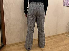 Сноуборд штаны в клетку горнолыжные тёплые штаны Thinsulate, фото 3