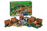 Конструктор Bela Minecraft Майнкрафт Деревня 10531 1622 детали
