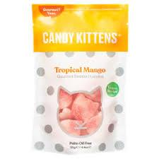 Candy Kittens Tropical Mango Gourmet Sweets 125g