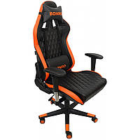 Крісло геймерське Bonro 1018 оранжеве