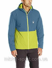 Мужская лыжная куртка Spyder Berner Ski Jacket Mens Waterproof Primaloft Sulfur Union Blue, M размер