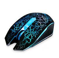 Игровая мышь с подсветкой Zeus M-110, проводная геймерская мышка для компьютера | мишка з підсвіткою (ST)