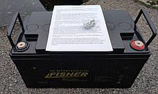 Гелевый аккумулятор для электромотора Fisher 65Ah gel, фото 3