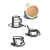 Набор подставок для чашек Sketch Coasters Peleg Design