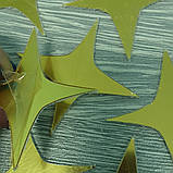 Зеркальные золотые звезды - набор наклеек 25 шт, фото 2