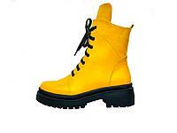 """Кожаные женские зимние ботинки мод.""""Восторг 2""""(зима)"""