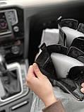 Женские зимние ботинки Balenciaga Tractor на меху PA306 черные, фото 8