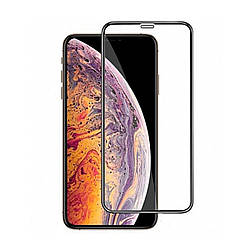 Стекло LUME Protection Full 3D for iPhone 11 Pro Max/XS Max Front Black