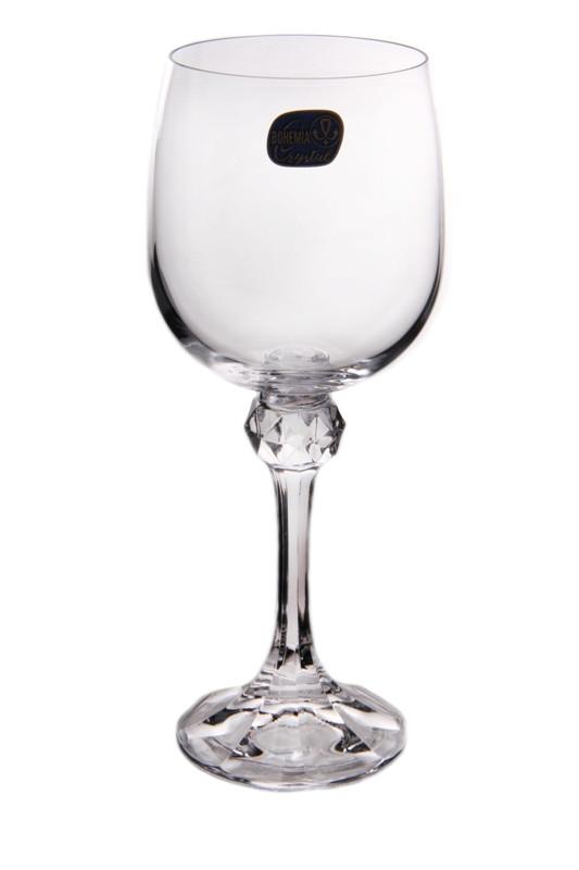 Бокалы Julia 230мл д/вина/воды 6шт Bohemia (40428/230)